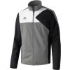 Erima Premium One Polyester Jacket szürke/fekete/fehér melegítő felső