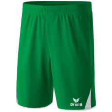 Erima 5-CUBES Shorts zöld/fehér rövidnadrág