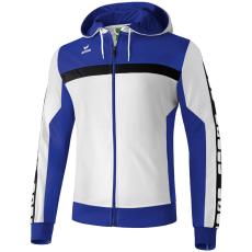Erima 5-CUBES Training Jacket with Hood fehér/kék melegítő felső