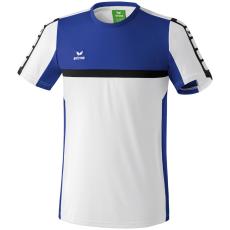 Erima 5-CUBES T-Shirt fehér/kék poló
