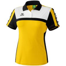 Erima 5-CUBES Polo-Shirt sárga/fekete/fehér galléros poló