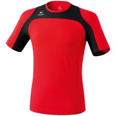 Erima Race Line Running T-Shirt piros/fekete poló