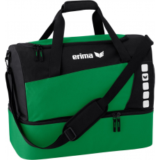 Erima Sports Bag with Bottom Compartment sötét zöld/fekete táska