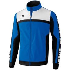 Erima 5-CUBES Polyester Jacket kék/fekete/fehér melegítő felső