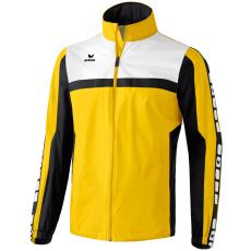 Erima 5-CUBES Rain Jacket sárga/fekete/fehér széldzseki