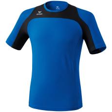 Erima Race Line Running T-Shirt kék/fekete poló
