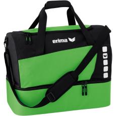 Erima Sports Bag with Bottom Compartment zöld/fekete táska