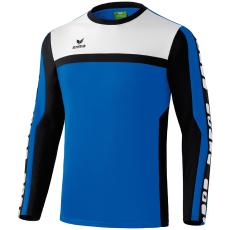 Erima 5-CUBES Training Sweater kék/fekete/fehér pulóver
