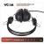 VCOM DE-185 fekete-zöld - Headset