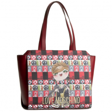 Love moschino Táska LOVE MOSCHINO - JC4313PP02KR0514 Rosso Scuro