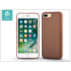 Devia Apple iPhone 7 Plus szilikon hátlap - Devia Jelly Slim Leather 2 - brown