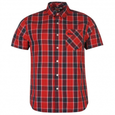 Lee Cooper férfi ing - Lee Cooper Hoxton Short Sleeve Check Shirt