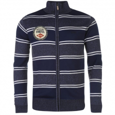 Lee Cooper férfi kardigán - Lee Cooper Zipped Knitted Top