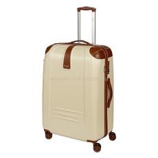 DIELLE bézs négykerekű nagy bőrönd 155-L