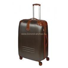 DIELLE barna négykerekű nagy bőrönd 155-L