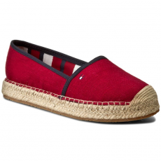 Tommy Hilfiger Espadrilles TOMMY HILFIGER - Int Sammy 4D FW0FW00480 Scooter Red 614