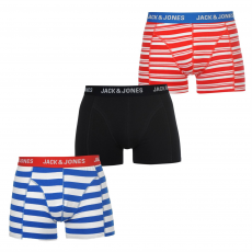 Jack and Jones Boxeralsó Jack and Jones Straight 3 Pack fér.