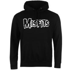 Official Misfits férfi kapucnis cipzáras pulóver mintás XL