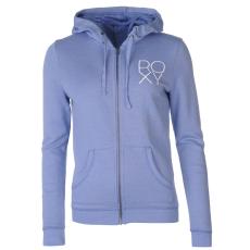Roxy Field női kapucnis cipzáras pulóver kék XS