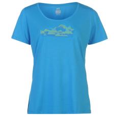 Millet Soft női póló kék XL
