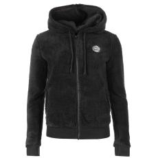 Roxy Andrea női kapucnis cipzáras pulóver sötétszürke XS
