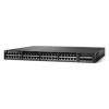 Cisco Catalyst 3650-48TS-L, Standalone, 1U, 48 x 10/100/1000 Ethernet, 4x1G Uplink ports, DRAM 4GB, Flash 2GB, 250W, LAN Base WS-C3650-48TS-L