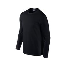 GILDAN hosszú ujjú Softstyle póló, fekete
