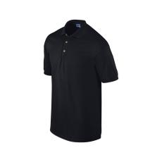 GILDAN ultra, galléros póló, fekete