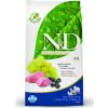 Natural & Delicious; Farmina N&D Grain Free Bárány+Áfonya 2,5kg