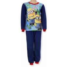 gyermek polár pizsama MINIONS - Minyonok - sötétkék - méret: 104