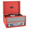 Auna auna Epoque 1907, retro audio rendszer, gramofon, bluetooth, MC, USB, CD, AUX