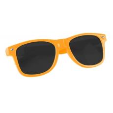 Műanyag napszemüveg UV400 védelemmel, Narancssárga