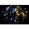 OEM Karácsonyi fényfüzér 100 LED - 9 villogó funkció, színváltó - 9,9 m