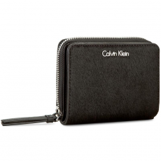 Calvin Klein Black Label Nagy női pénztárca CALVIN KLEIN BLACK LABEL - Vivi4N Medium Ziparound With Flap K60K602430 001