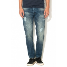 Jack Jones Jack Jones Kék Anti-Fit Farmernadrág, W33-L34 (12110702-BLUE-DENIM-W33-L34)
