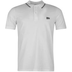 Jack and Jones Originals Brand Logo férfi galléros póló fehér L