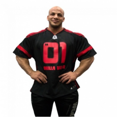 GW ATHLETE T-SHIRT BIG RAMY (BLACK/RED) [L]