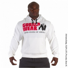 CLASSIC HOODED TOP (PURE WHITE) [XXL]
