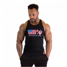 USA TANKTOP (BLACK) [XL]