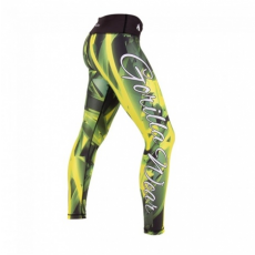 RENO TIGHTS (GREEN/YELLOW) [XS]