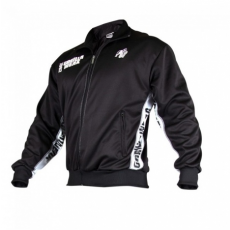 TRACK JACKET (BLACK/WHITE) [L/XL]