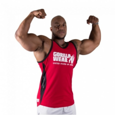 STRETCH TANK TOP (RED) [2XL/3XL]