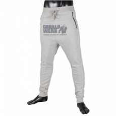 ALABAMA DROP CROTCH JOGGERS - GREY (GREY) [M]