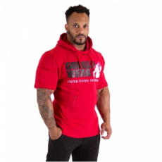 BOSTON HOODIE SHORT SLEEVE (RED) [XL]