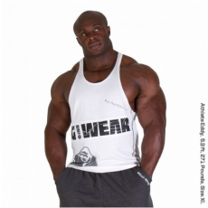 G!WEAR STRINGER TANK TOP (WHITE) [L]