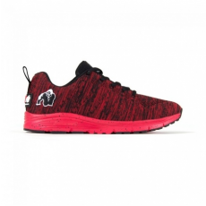 BROOKLYN KNITTED SNEAKERS - RED/BLACK (RED/BLACK) [37]