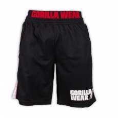 CALIFORNIA MESH SHORTS (BLACK/RED) [2XL/3XL]