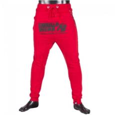 ALABAMA DROP CROTCH JOGGERS - RED (RED) [XXL]