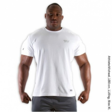 MUSCLE TEE (PURE WHITE) [XXL]