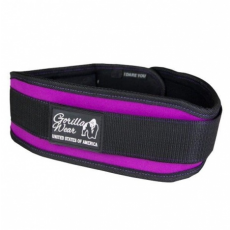 WOMENS LIFTING BELT (BLACK/PURPLE) [M]
